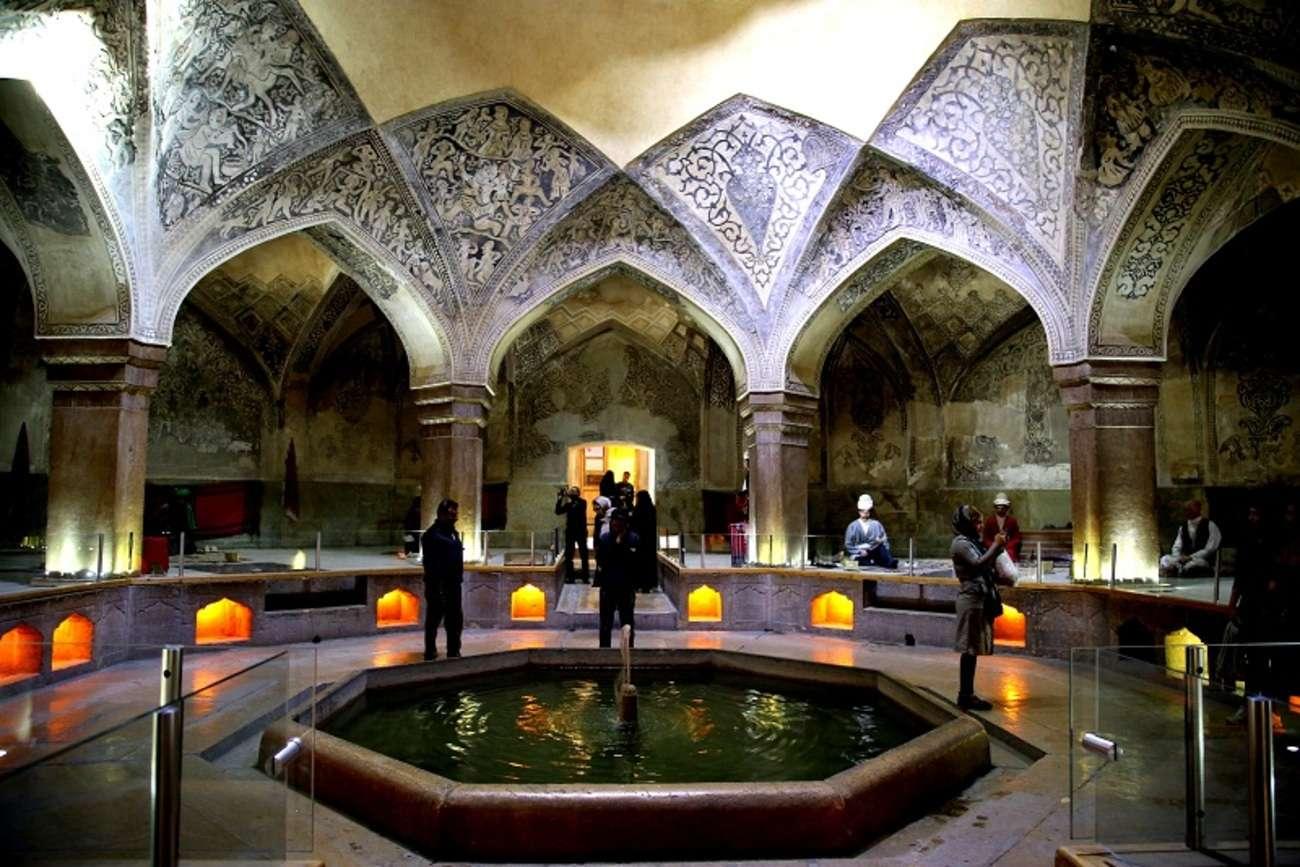 حمام وکیل از جاذبه های گرشگری شیراز
